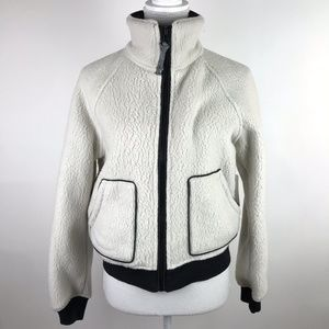 Free People Jacket Ivory Northern Lights Sherpa